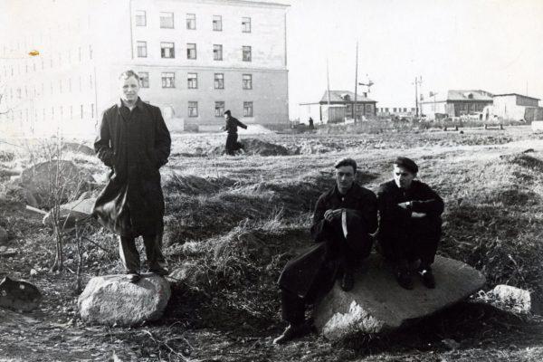 1957-58гг. на территории студгородка