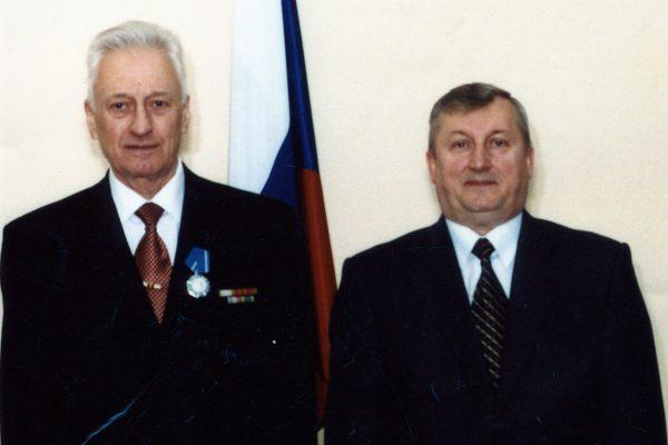 2004 г. вручение Ордена Почета Латышевым