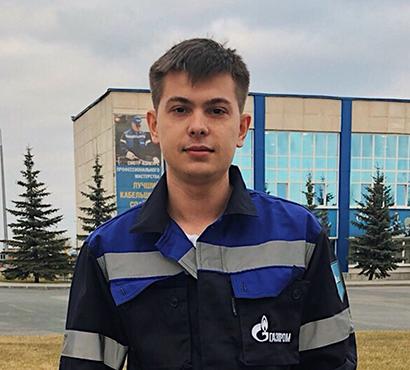 Пастухов Владислав Алексеевич -слесарь КИПиА