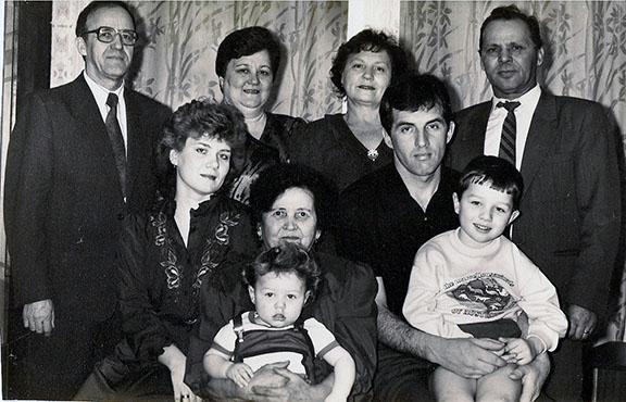 Семья Раевских и Додоновых Елены и Сергея